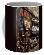 Train - Engine - 1218 - Norfolk Western - Class A - 1218 Coffee Mug by Mike Savad