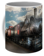Train - Engine - 6 Nw Class G Steam Locomotive 4-6-0  Coffee Mug by Mike Savad