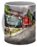 Train - Engine - Black River Western Coffee Mug by Mike Savad