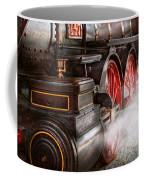 Train - Let Off Some Steam  Coffee Mug by Mike Savad