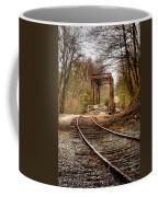 Train Memories Coffee Mug by Debra and Dave Vanderlaan