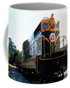 Train Museum - End Of The Line - Canadian National Railway Coffee Mug