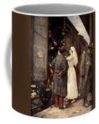 Train Of The Wounded, 1915 Coffee Mug