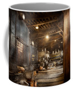 Train - Ready In The Roundhouse Coffee Mug by Mike Savad