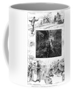 Train Travel, 1883 Coffee Mug