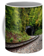 Train Tunnel Coffee Mug