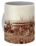 Train Wreck, 1890s Coffee Mug