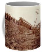 Train Wreck, C1900 Coffee Mug