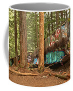 Train Wreck Canvas Among The Trees Coffee Mug