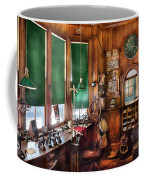 Train - Yard - The Stationmasters Office  Coffee Mug