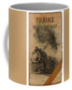 Trains Of The Old West Coffee Mug