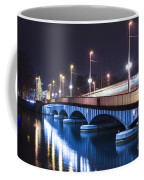 Tram Over A Bridge Coffee Mug