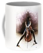 Tranquil Cellist Coffee Mug