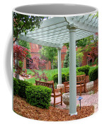 Tranquil Courtyard Coffee Mug