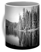 Tranquil Reflection In B And W Coffee Mug