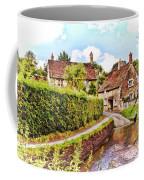 Tranquil Stream Lacock Coffee Mug by Paul Gulliver