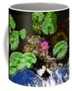 Tranquility - Lotus Flower Koi Pond By Sharon Cummings Coffee Mug