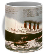 Transatlantic Liner, 1912 Coffee Mug