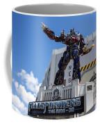 Transformers The Ride 3d Universal Studios Coffee Mug