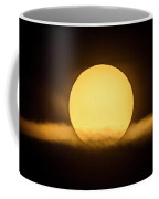 Transit Of Mercury Near Sunrise Coffee Mug