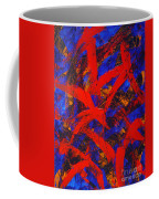 Transitions With Blue And Red  Coffee Mug