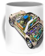Transparent Car Concept Made In 3d Graphics 2 Coffee Mug