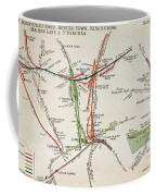 Transport Map Of London Coffee Mug