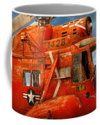 Transportation - Helicopter - Coast Guard Helicopter Coffee Mug