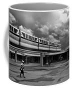 Transportation Station In Black And White Walt Disney World Coffee Mug