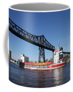 Transporter Bridge Over Canal Rendsburg Coffee Mug
