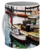 Trap Hauling Coffee Mug by Darren Fisher