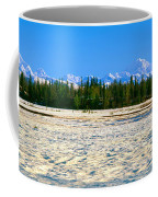 Trapper Creek And Mount Mckinley, Alaska Coffee Mug