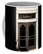 Trattoria Door Palm Springs Coffee Mug