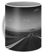 Traveling Down The Road Into The Mountains Coffee Mug