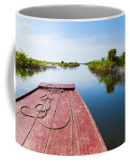 Traveling Through Tonle Sap Lake Coffee Mug