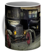 Treads Of Time Coffee Mug