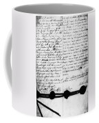 Treaty Of Alliance, 1778 Coffee Mug