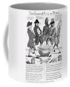 Treaty Of Paris Cartoon Coffee Mug