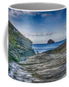 Trebarwith Strand Cornwall Coffee Mug