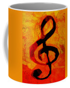Treble Distressed Coffee Mug