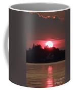 Tred Avon Sunset Coffee Mug by Lainie Wrightson