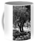 Tree And Cactus Coffee Mug