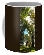 Tree Arches At Clackamette Park Coffee Mug