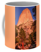 Tree At Devils Tower Coffee Mug