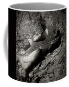 Tree Bark And Leaf Coffee Mug