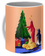 Tree Decorating Coffee Mug