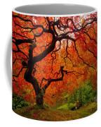 Tree Fire Coffee Mug by Darren  White