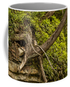 Tree Grows From Rock Outcrop Coffee Mug