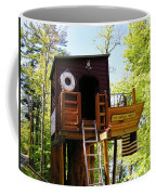 Tree House Boat 2 Coffee Mug