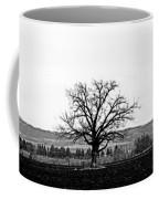 Tree In Black And White Coffee Mug